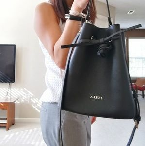 Brand New Furla Costanza Leather Small Bucket Bag